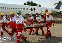 فرود اضطراری هواپیمای مسافربری کاسپین در یزد