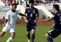 پیروزی یک بر صفر ژاپن مقابل عربستان