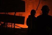 آتشسوزی یک کارگاه در حوالی ورامین