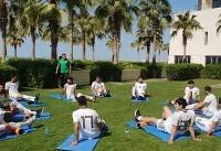 بازیکنان تیم ملی فوتبال در هتل ریکاوری کردند