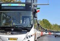 تحویل ۶۳ دستگاه اتوبوس جدید ایران خودرو دیزل به ناوگان اتوبوسرانی شیراز