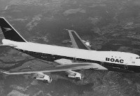 British Airway is giving one of its Boeing 747s a 1960s-era paint scheme