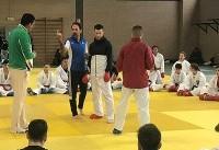 پایان تمرین کاراته کاها در رم/ کلاس درس هروی برای میهمانان