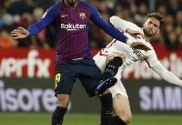 شکست بارسلونای بدون مسی در کوپا دل ری