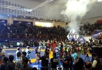 افتتاح سالن ورزشی اندیمشک توسط وزیر ورزش/ بانوان نظارهگر جام تختی