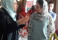 افتتاح «بازارچه خیریه دیپلماتیک» با حضور همسر وزیر امور خارجه