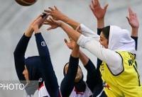 فرصت سوزی نفت در پلی آف بسکتبال بانوان