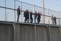حضور بودیمیر در جمع پرسپولیسیها و اقدام عجیب هواداران/عکس