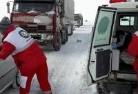 برف و کولاک در ۱۱ استان