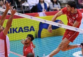 جامجهانی والیبال؛ پیروزی راحت ایران مقابل قعرنشین/ تونس حرفی برای گفتن نداشت