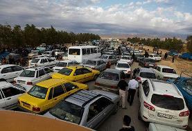 ترافیک سنگین محور ایلام-مهران/ مرزهای دیگر نیمهسنگین و روان
