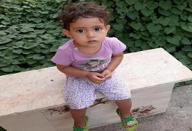سرنخی جدید از زهرا دختر ۲۱ ماهه گمشده+عکس