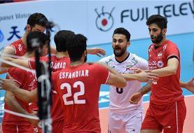 ایران ۳ – تونس صفر / بازگشت والیبال به ریل پیروزی بازهم با اعتماد به جوانها
