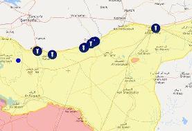 تحولات میدانی و سیاسی دومین روز حمله ترکیه به شمال سوریه
