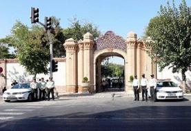 سردر تاریخی پلیس آگاهی رونمایی شد