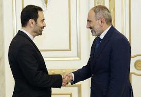 دیدار خداحافظی سفیر کشورمان با نخستوزیر ارمنستان