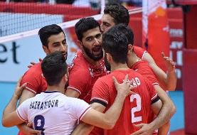 پیروزی تیم ملی والیبال مقابل تونس + عکس و جدول