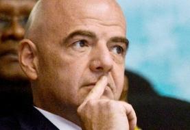 بیانیه رئیس فیفا درباره حضور بانوان در دیدار ایران و کامبوج