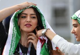 ورود زنان به ورزشگاه آزادی برای تماشای دیدار ایران و کامبوج+ ویدیو