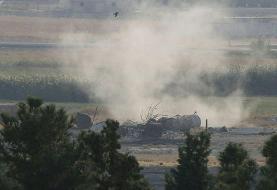آغاز عملیات زمینی ارتش ترکیه در سوریه