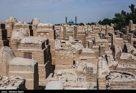 قبرستان وادی السلام به روایت تصویر