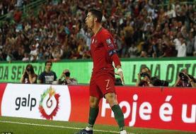 رونالدو یک گل تا رسیدن به ۷۰۰ گل رسمی