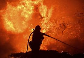 PHOTOS: California wildfires threaten homes in Los Angeles