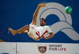 شکست تیم ملی ایران در نیمهنهایی مسابقات فوتبال ساحلی جهان