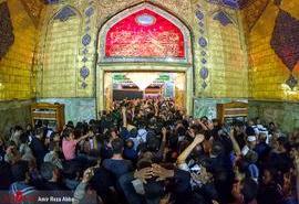 حال و هوای حرم حضرت علی (ع) در آستانه اربعین حسینی