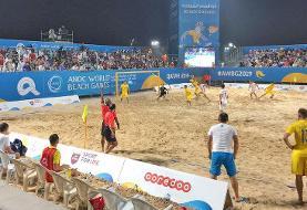 شکست شاهین رودسر مقابل نماینده برزیل در فوتبال ساحلی جهان