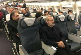 سفر رئیس مجلس به صربستان با پرواز غیراختصاصی و عادی