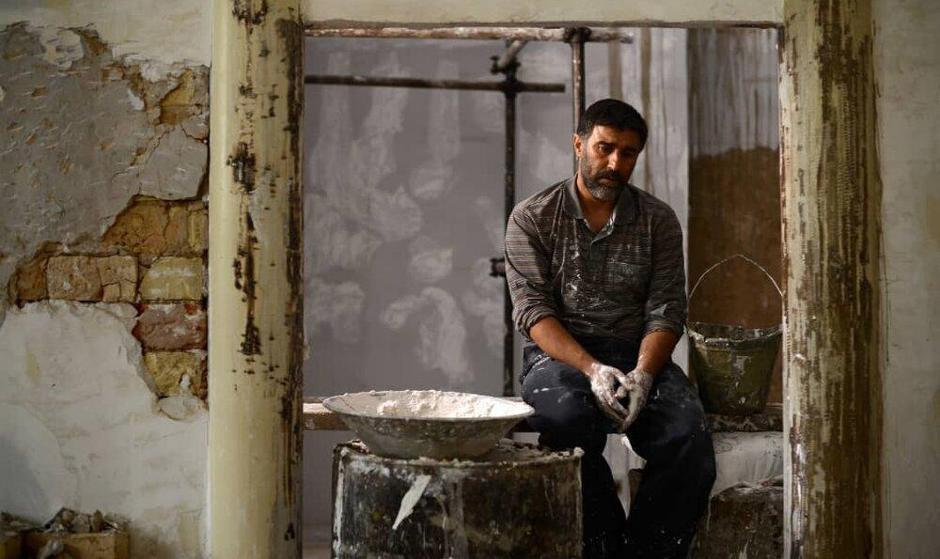 اولین عکس از محسن تنابنده در نقش قاتل عنکبوتی
