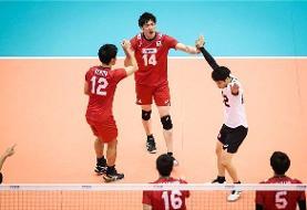جامجهانی والیبال: ایران به ژاپن هم باخت