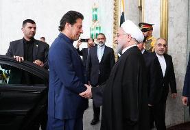 تصاویر | رئیس جمهور با عمرانخان دیدار کرد