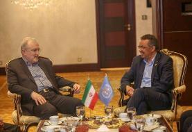 وزیر بهداشت ایران با مدیرکل سازمان جهانی بهداشت دیدار کرد