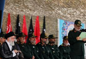 تصاویر: حضور فرمانده کل قوا در دانشگاه افسری امام حسین (ع)