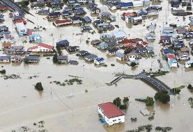 گرمایش زمین؟ تصاویر طوفان سهمگین و کم سابقه هاگیبیس در ژاپن با ۲۳۰ کشته، زخمی یا مفقود