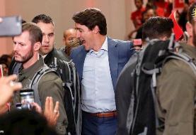 (تصویر) جلیقه ضد گلوله نخست وزیر کانادا خبرساز شد