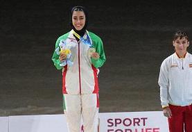 فاطمه صادقی با نقره خود نخستین مدال ایران در بازیهای ساحلی را به نام خود کرد