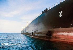 نفتکش آسیبدیده اول آبان در بندرعباس پهلو میگیرد