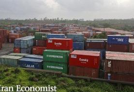 صادرات ۷۰ میلیون تن کالا در نیمه نخست سال