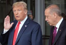 بی ادبی ترامپ نسبت به اردوغان