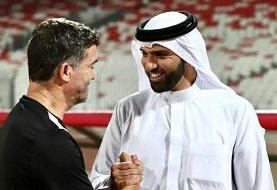 رئیس فدراسیون فوتبال بحرین: مقابل ایران یک برد تاریخی به دست آوردیم