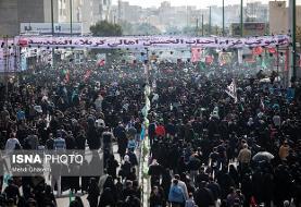 خدمات رسانی شرکت واحد اتوبوسرانی تهران در مراسم پیاده روی جاماندگان اربعین
