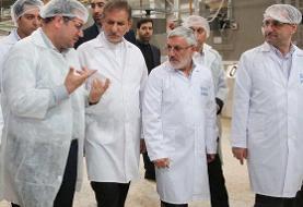 افتتاح طرح توسعه واحد تولیدی شرکت شیوا با حضور جهانگیری