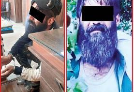 (عکس) این مرد قاتل اجاره ای است؛ مزاحم زنم را به او سپردم!