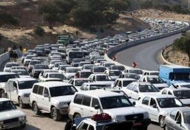شروع موج بازگشت زائران اربعین |افزایش ۳۰ برابری ترافیک محورهای کرمانشاه