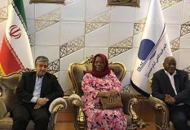 وزیر امور خارجه آفریقای جنوبی در تهران