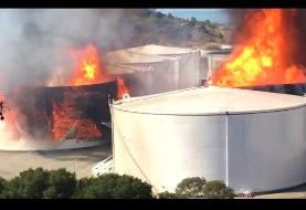 حریق در تاسیسات انرژی سانفرانسیسکو
