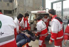 انتقال ۸ مصدوم از بیمارستان الحسین کربلا به مرز مهران